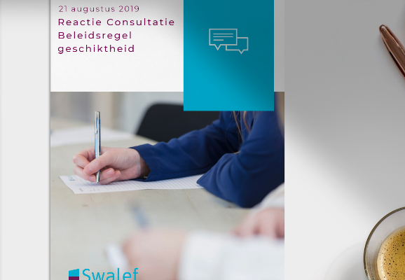 Reactie Consultatie Beleidsregel geschiktheid