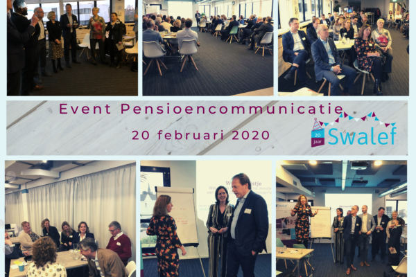 Suggesties Swalef Event | Pensioencommunicatie 20 februari 2020